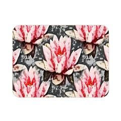 Water Lily Background Pattern Double Sided Flano Blanket (mini)  by Nexatart