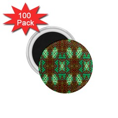 Art Design Template Decoration 1 75  Magnets (100 Pack)  by Nexatart
