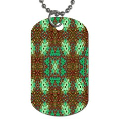 Art Design Template Decoration Dog Tag (one Side)