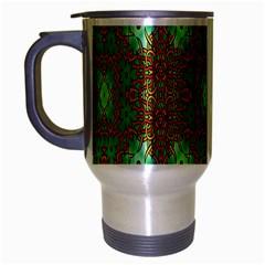 Art Design Template Decoration Travel Mug (silver Gray)