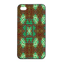 Art Design Template Decoration Apple Iphone 4/4s Seamless Case (black) by Nexatart