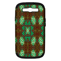 Art Design Template Decoration Samsung Galaxy S Iii Hardshell Case (pc+silicone) by Nexatart