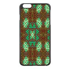 Art Design Template Decoration Apple Iphone 6 Plus/6s Plus Black Enamel Case by Nexatart