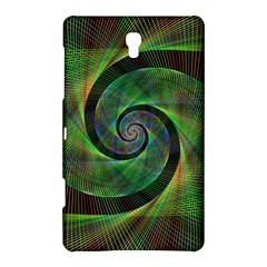 Green Spiral Fractal Wired Samsung Galaxy Tab S (8 4 ) Hardshell Case