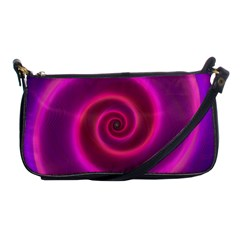 Pink Background Neon Neon Light Shoulder Clutch Bags