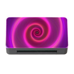 Pink Background Neon Neon Light Memory Card Reader With Cf by Nexatart