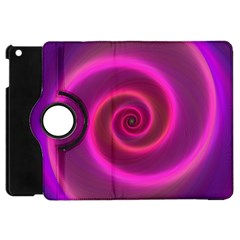 Pink Background Neon Neon Light Apple Ipad Mini Flip 360 Case