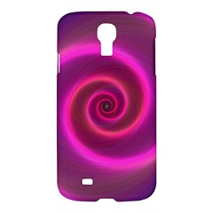 Pink Background Neon Neon Light Samsung Galaxy S4 I9500/i9505 Hardshell Case