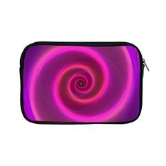 Pink Background Neon Neon Light Apple Ipad Mini Zipper Cases by Nexatart