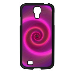 Pink Background Neon Neon Light Samsung Galaxy S4 I9500/ I9505 Case (black)