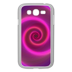 Pink Background Neon Neon Light Samsung Galaxy Grand Duos I9082 Case (white)