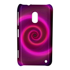 Pink Background Neon Neon Light Nokia Lumia 620 by Nexatart