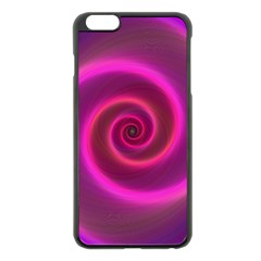 Pink Background Neon Neon Light Apple Iphone 6 Plus/6s Plus Black Enamel Case