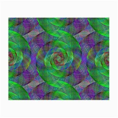 Fractal Spiral Swirl Pattern Small Glasses Cloth by Nexatart