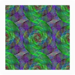 Fractal Spiral Swirl Pattern Medium Glasses Cloth (2 Side)