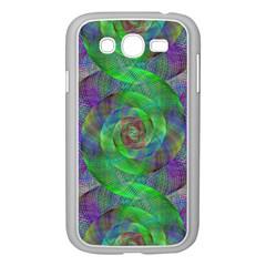 Fractal Spiral Swirl Pattern Samsung Galaxy Grand Duos I9082 Case (white)