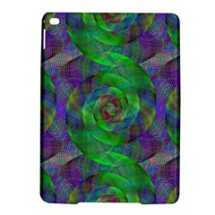 Fractal Spiral Swirl Pattern Ipad Air 2 Hardshell Cases by Nexatart
