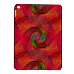 Red Spiral Swirl Pattern Seamless Ipad Air 2 Hardshell Cases by Nexatart