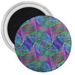 Spiral Pattern Swirl Pattern 3  Magnets