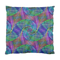 Spiral Pattern Swirl Pattern Standard Cushion Case (two Sides)