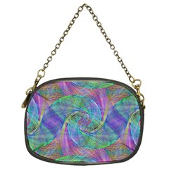 Spiral Pattern Swirl Pattern Chain Purses (two Sides)  by Nexatart