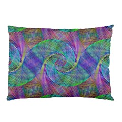Spiral Pattern Swirl Pattern Pillow Case by Nexatart