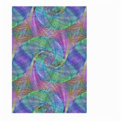 Spiral Pattern Swirl Pattern Large Garden Flag (two Sides) by Nexatart