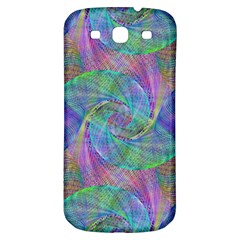 Spiral Pattern Swirl Pattern Samsung Galaxy S3 S III Classic Hardshell Back Case