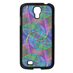 Spiral Pattern Swirl Pattern Samsung Galaxy S4 I9500/ I9505 Case (black) by Nexatart