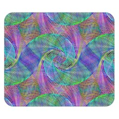 Spiral Pattern Swirl Pattern Double Sided Flano Blanket (Small)