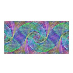 Spiral Pattern Swirl Pattern Satin Wrap