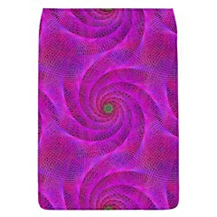 Pink Abstract Background Curl Flap Covers (l)  by Nexatart