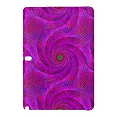 Pink Abstract Background Curl Samsung Galaxy Tab Pro 10 1 Hardshell Case by Nexatart