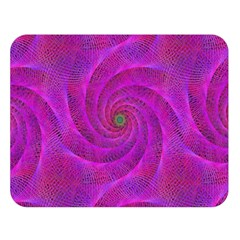 Pink Abstract Background Curl Double Sided Flano Blanket (large)  by Nexatart