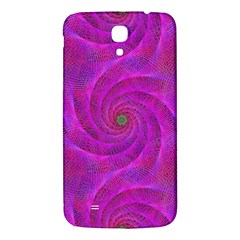 Pink Abstract Background Curl Samsung Galaxy Mega I9200 Hardshell Back Case by Nexatart