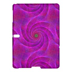 Pink Abstract Background Curl Samsung Galaxy Tab S (10 5 ) Hardshell Case  by Nexatart