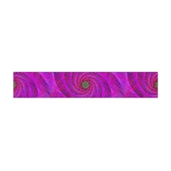 Pink Abstract Background Curl Flano Scarf (mini)