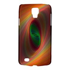 Ellipse Fractal Orange Background Galaxy S4 Active