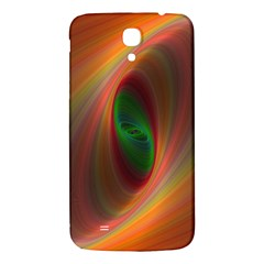 Ellipse Fractal Orange Background Samsung Galaxy Mega I9200 Hardshell Back Case