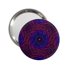 Pattern Seamless Repeat Spiral 2 25  Handbag Mirrors