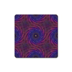 Pattern Seamless Repeat Spiral Square Magnet