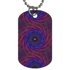 Pattern Seamless Repeat Spiral Dog Tag (one Side) by Nexatart