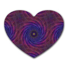 Pattern Seamless Repeat Spiral Heart Mousepads