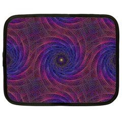 Pattern Seamless Repeat Spiral Netbook Case (xxl)
