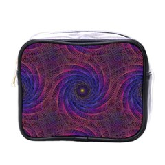 Pattern Seamless Repeat Spiral Mini Toiletries Bags by Nexatart