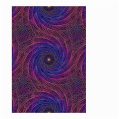Pattern Seamless Repeat Spiral Small Garden Flag (two Sides) by Nexatart