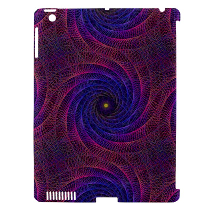 Pattern Seamless Repeat Spiral Apple iPad 3/4 Hardshell Case (Compatible with Smart Cover)