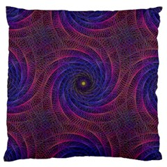 Pattern Seamless Repeat Spiral Large Cushion Case (one Side) by Nexatart