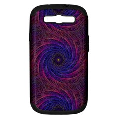 Pattern Seamless Repeat Spiral Samsung Galaxy S Iii Hardshell Case (pc+silicone)