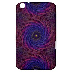 Pattern Seamless Repeat Spiral Samsung Galaxy Tab 3 (8 ) T3100 Hardshell Case